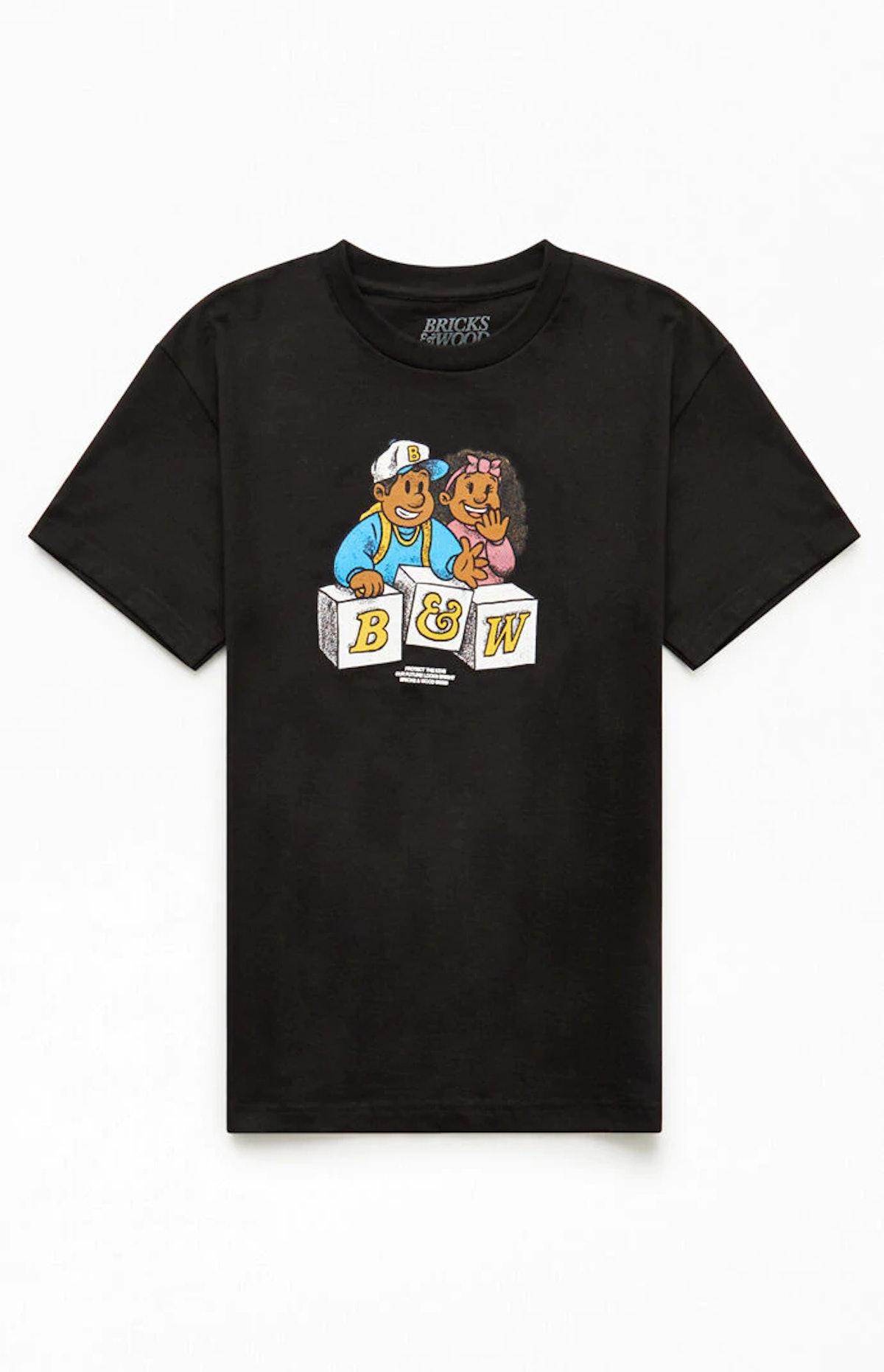Bricks & Wood Protect The Kids T-Shirt