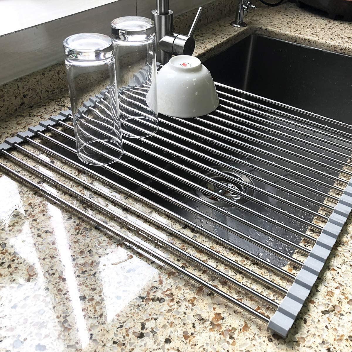 Attom Tech Home Roll-Up Dish Rack