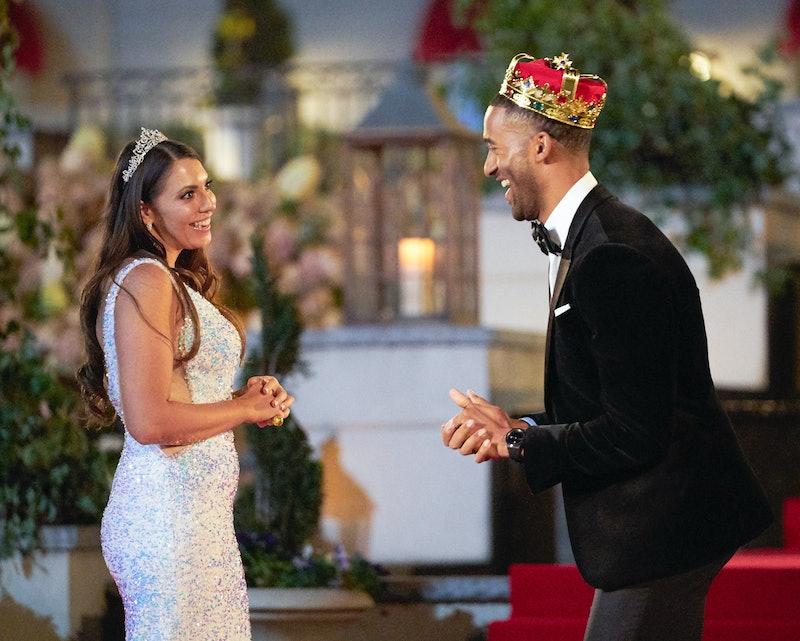 Victoria and Matt on The Bachelor via the ABC press site