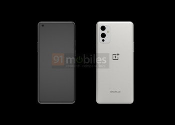 OnePlus 9 leaked images with three cameras