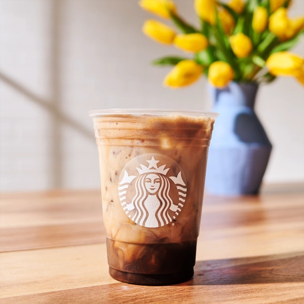 Starbucks' Iced Shaken Espresso drink lineup is a twist on a classic latte.