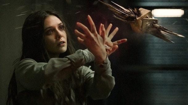 Elizabeth Olsen in Captain America 2