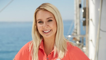 Sydney Zaruba on Below Deck Sailing Yacht via the Bravo press site