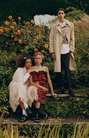 Models in the Simone Rocha X H&M campaign film.