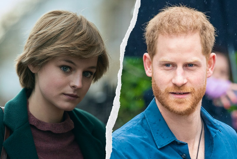 Emma Corrin responded to Prince Harry's comments on 'The Crown'