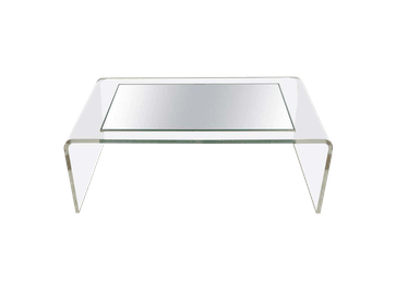 '70s Modern Lucite Waterfall Coffee Table