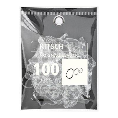 No-Snag Elastic 100pc - Clear