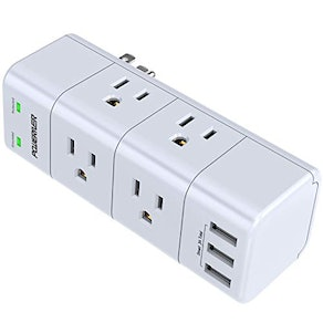 PoWERIVER Rotating Outlet Extender