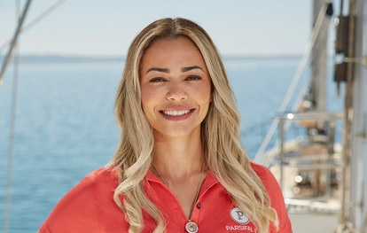 Daniele Soares on Below Deck Sailing Yacht via the Bravo press site