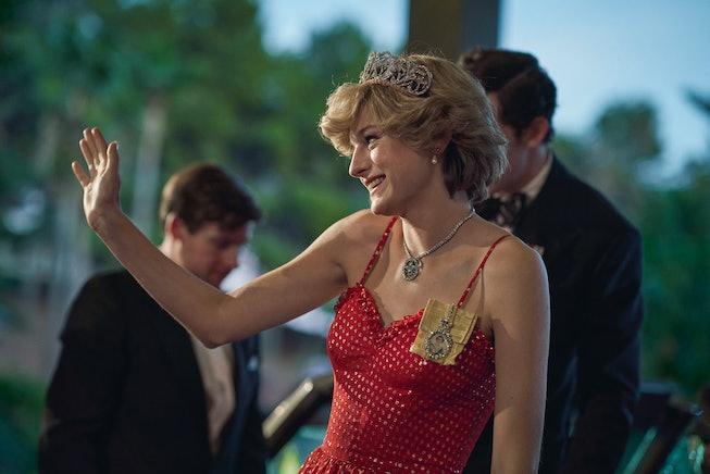 Emma Corrin thanked Princess Diana in her Golden Globes acceptance speech.
