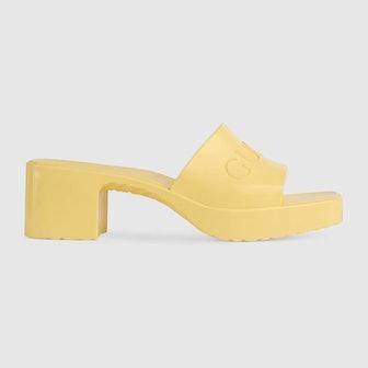 Women's Rubber Slide Sandal