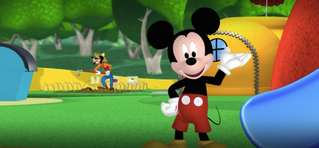 Join Mickey Mouse for a good time at the Clubhouse!