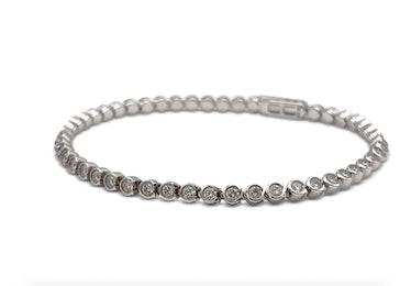White Gold Diamond Bracelet