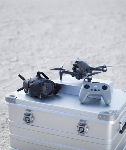 DJI FPV drone is world's fastest and comes with FPV goggles and V2 controller.