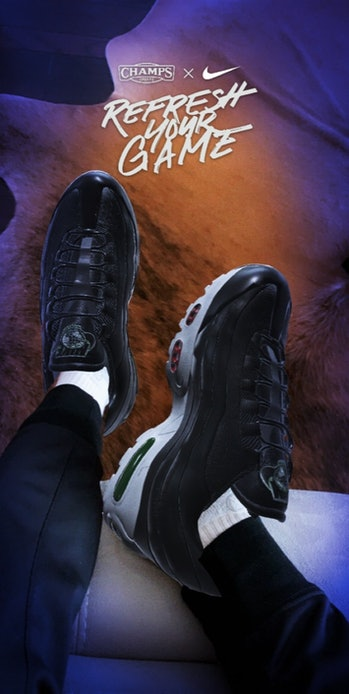 Champs released a Lens in Snapchat that allows users to virtually try on shoes from the comfort of their home.