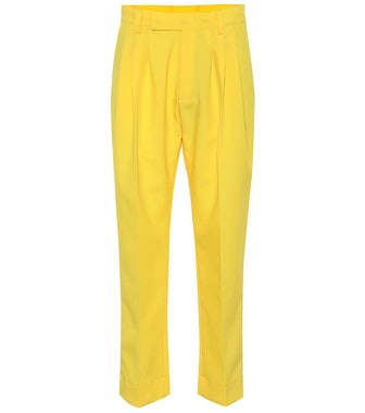 High-Rise Cropped Pants
