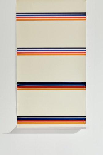 Retro Stripe Removable Wallpaper