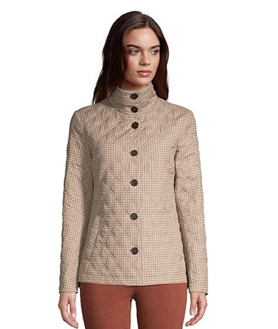 Lands' End Insulated Quilted Barn Jacket