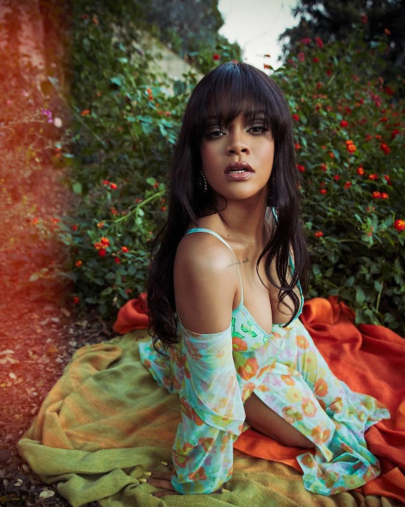 Rihanna models lingerie in latest Savage X Fenty spring drop.