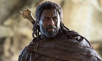 Idris Elba as Heimdall in Thor: Ragnarok