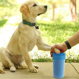 CHOOSEEN 2 in 1 Paw Cleaner Dog Cleaner