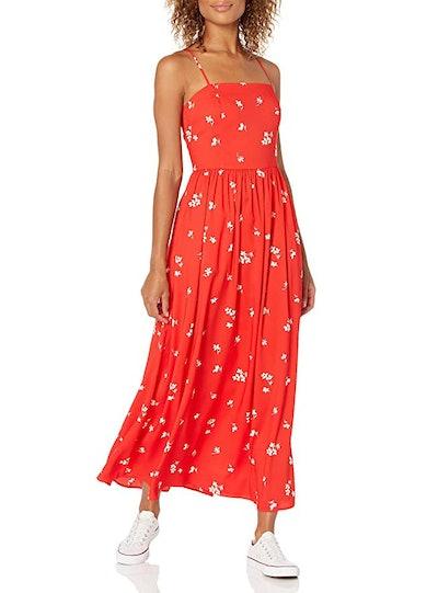 Goodthreads Georgette Smock-Back Maxi Dress