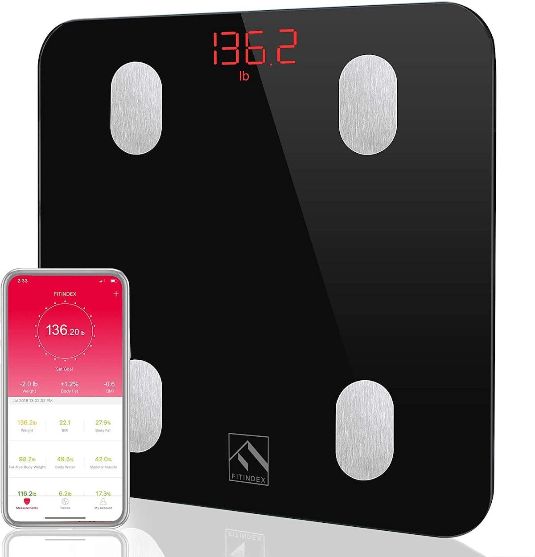 FITINDEX Bluetooth Body Scale