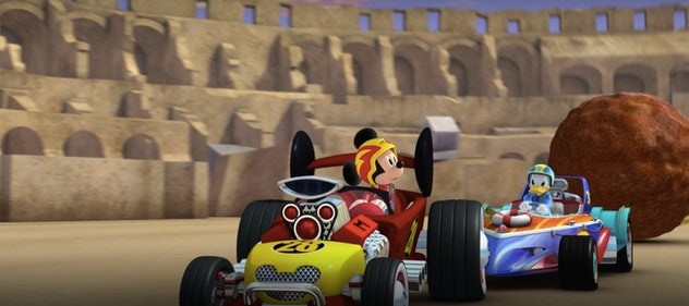 'Mickey Mouse Roadster Racers' is on Disney+