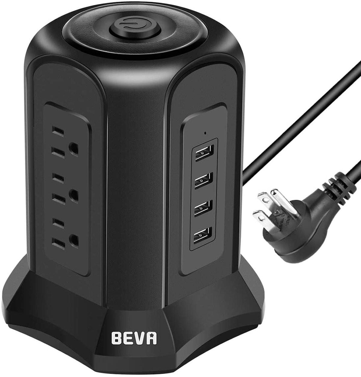 BEVA Power Strip Tower