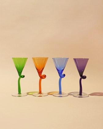 Multi-colored Petite Shot Glass