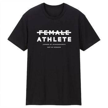 """Playa Society """"Female Athlete"""" shirt"""