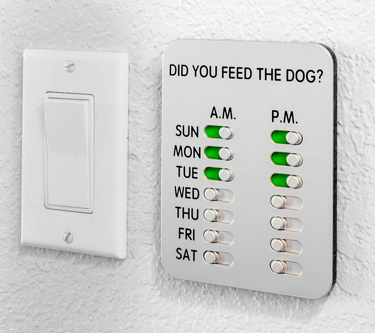 DYFTD Did You Feed the Dog?