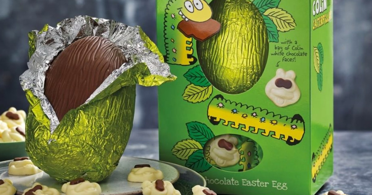 M&S Is Selling A Colin The Caterpillar Easter Egg