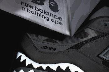 New Balance x BAPE 2002R