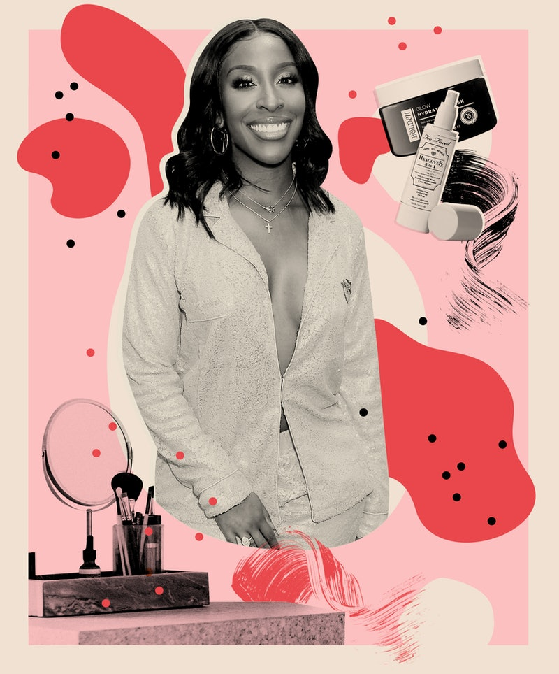 Jackie Aina shares her beauty routine and must-have skin care and makeup products.
