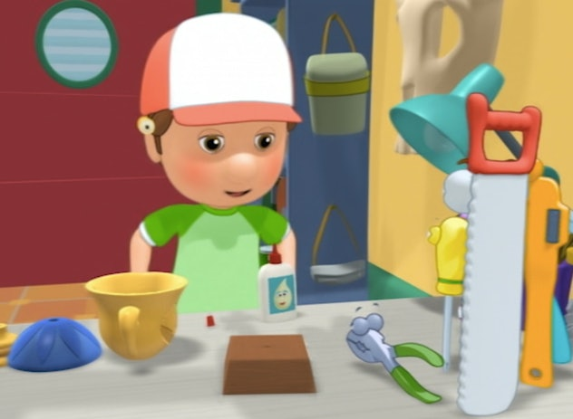 Whatever the job, Handy Manny has it covered