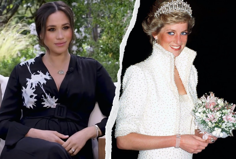 Meghan Markle's Oprah Interview Outfit Includes Princess Diana's Bracelet
