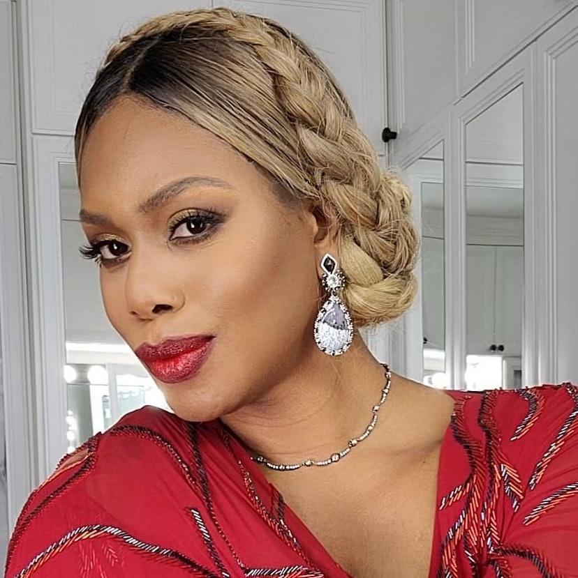 Glossy Berry Lipstick Laverne Cox