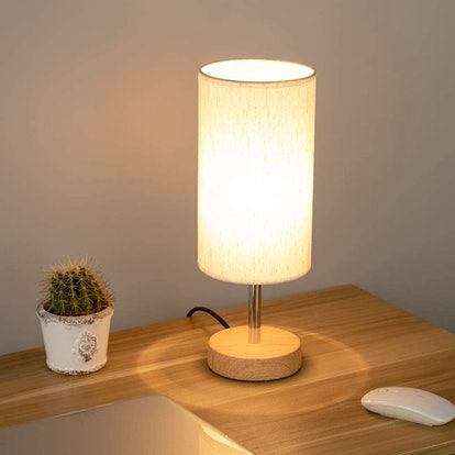 YARRA-DECOR Touch Control Shaded Table Lamp