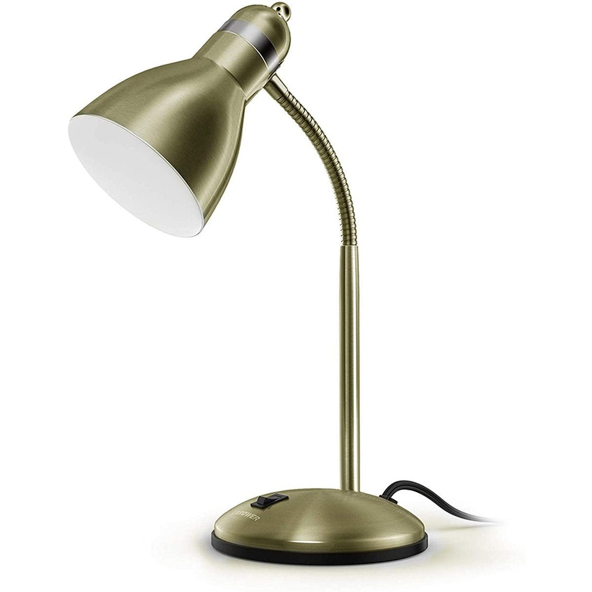 LEPOWER Adjustable Goose Neck Desk Lamp