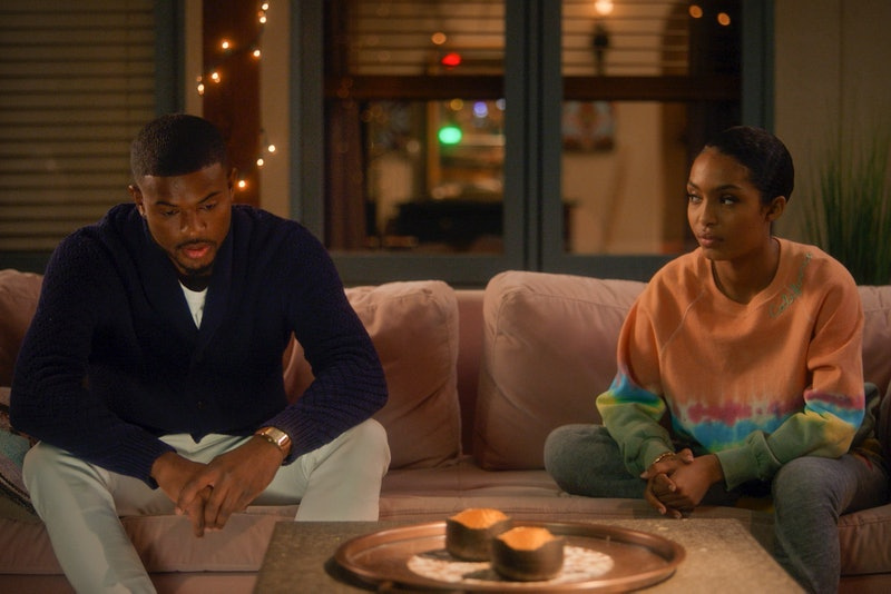 Trevor Jackson as Aaron and Yara Shahidi as Zoey in 'grown-ish' Season 3 via Freeform's press site
