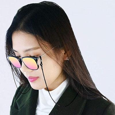 Jmkcoz Stainless Steel Eyeglass Chain
