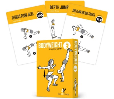 NewMe BODYWEIGHT Exercise Cards