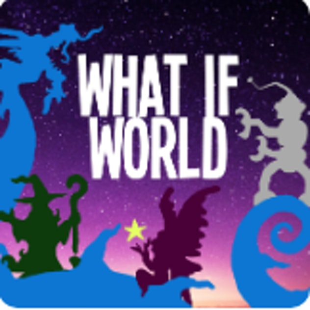 'What If World' podcast on Kids Listen.