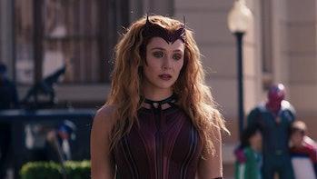 Elizabeth Olsen as Wanda Maximoff/The Scarlet Witch in WandaVision Episode 9