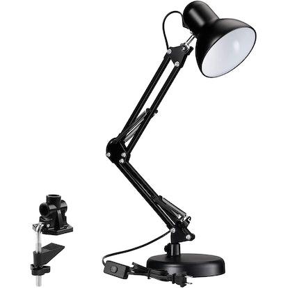 TORCHSTAR Metal Swing-Arm Desk Lamp