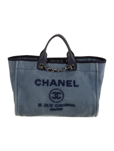 Medium Deauville Shopping Tote