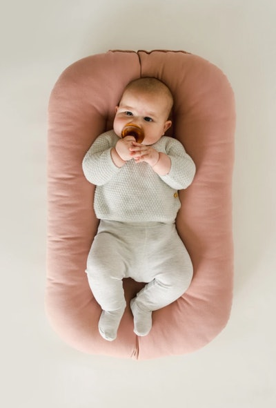 Organic Infant Lounger In Gumdrop