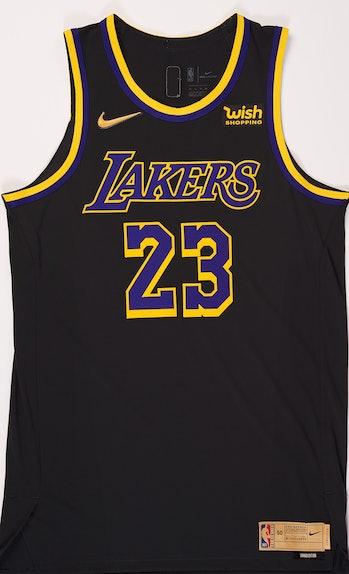 NBA x Nike NBA Playoffs Uniform Los Angeles Lakers