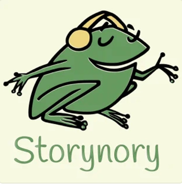 'Storynory' on Apple podcasts.